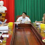 UBND huyện phiên họp thường kỳ tháng 4/2019