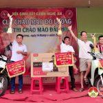 Hội thi Chào mào đấu hót liên tỉnh, quyên góp ủng hộ học sinh bị bệnh hiểm nghèo.
