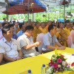 Đô Lương: Lễ đúc chuông chùa 3 Nàng