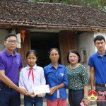 Nhóm Đô Lương – Chia sẻ yêu thương trao quà cho em Nguyễn Thị Thảo bị bệnh hiểm nghèo