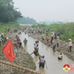 Trung Sơn Đô Lương: Tích cực chống hạn cho lúa xuân năm 2019