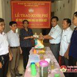 UBMTTQ Thị trấn Đô Lương bàn giao nhà Đại đoàn kết cho giáo dân  Nguyễn Thị Quý