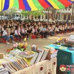 Trường THCS Lý Nhật Quang tổ chức ngày hội đọc sách năm 2019