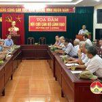 Tọa đàm hội cựu cán bộ lãnh đạo huyện Đô Lương