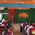 Xã Nhân Sơn tổng kết 10 năm thực hiện kết luận số 62 của Bộ chính trị và 5 năm luật hòa giải cơ sở.