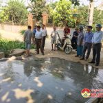 Ban chỉ đạo xây dựng nông thôn mới huyện thẩm định kết quả xây dựng nông thôn mới xã Thuận Sơn
