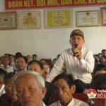 Đại biểu Quốc hội tiếp xúc cử tri trước kỳ họp thứ 7 tại xã Minh Sơn