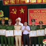 Công an Đô Lương tổng kết đợt cao điểm tấn công trấn áp tội phạm trước, trong và sau tết Kỷ Hợi, phát động thi đua chào mừng kỷ niệm 65 năm ngày chiến thắng Điện Biên Phủ, 62 năm ngày Bác Hồ về thăm quê lần thứ nhất