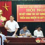 Ban chấp hành Đảng bộ huyện Đô Lương: Sơ kết công tác xây dựng Đảng quý 1/2019