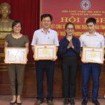 Hội chữ thập đỏ huyện tổng kết công tác hội năm 2018, triển khai nhiệm vụ năm 2019.