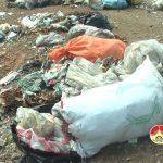 Bãi rác thải gây ô nhiễm môi trường ở xã Ngọc Sơn