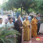 Hội Phật giáo huyện Đô Lương dâng hương tại nghĩa trang liệt sỹ