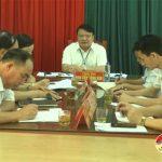 Chủ tịch UBND huyện Đô Lương: Thực hiện lịch làm việc tiếp công dân