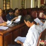 Ngân hàng CSXH Đô Lương: Kiểm tra hoạt động tín dụng tại cơ sở