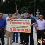 Công ty Cổ phần Kinh doanh Tổng hợp Đô Lương tổ chức lễ khánh thành tu bổ, tôn tạo phần mộ Uy Minh Vương – Lý Nhật Quang