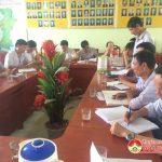 Ban chỉ đạo NTM huyện thẩm tra kết quả xây dựng nông thôn mới xã Quang Sơn