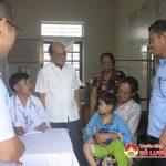 Đô Lương- khám và cấp phát thuốc miễn phí cho người khuyết tật