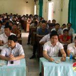 Đô Lương: Khai giảng lớp bồi dưỡng ngạch chuyên viên K33.6
