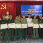 Hội CCB xã Tân Sơn tổng kết phong trào thi đua CCB gương mẫu giai đoạn 2014-2019