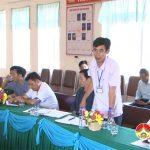 Ban chỉ đạo NTM huyện thẩm tra kết quả xây dựng nông thôn mới xã Bắc Sơn.