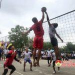 Những pha bóng tấn công đẹp mắt tại giải bóng chuyền nam Làng Sen Đô Lương 2019