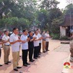 Bộ chỉ huy BĐBP tỉnh dâng hương dâng hoa trồng cây tại Đền Quả Sơn