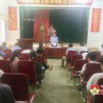 Kiểm tra xây dựng nông thôn mới tại xã Minh Sơn