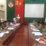 Cục quản lí thị trường tỉnh Nghệ An làm việc với huyện Đô Lương