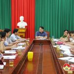 UBND huyện Đô Lương tổ chức hội nghị thường kì tháng 5 năm 2019