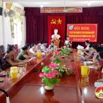 Hội phụ nữ Thị trấn sơ kết giữa nhiệm kỳ thực hiện nghị quyết Đại hội đại biểu phụ nữ các cấp