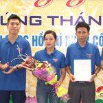 Đoàn khối doanh nghiệp Nghệ An: Ra mắt tổ chức Đoàn TNCS Hồ Chí Minh cty cổ phần may Minh Anh, Đô Lương.
