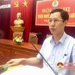 LĐLĐ huyện Đô Lương tổ chức hội nghị giao ban tiếp xúc đối thoại