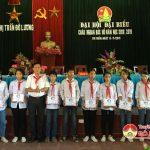 Hội đồng đội thị trấn tổ chức đại hội cháu ngoan Bác Hồ