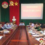 Huyện ủy Đô Lương tham dự hội nghị trực tuyến học tập chuyên đề: Ý nghĩa lịch sử và giá trị trường tồn trong di chúc của chủ tịch Hồ Chí Minh.
