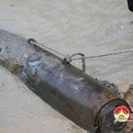 Đô Lương trục vớt thành công quả bom nặng 300kg còn sót lại thời chiến tranh