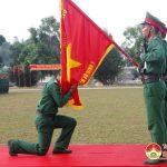 Các đơn vị thuộc Sư đoàn 324 tổ chức Tuyên thệ chiến sỹ mới
