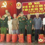 Hội cựu chiến binh xã Tân Sơn tổ chức gặp mặt hội viên cựu chiến binh chống Pháp