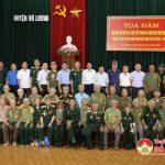 Hội cựu chiến binh huyện Đô Lương tổ chức gặp mặt hội viên cựu chiến binh trực tiếp tham gia chiến dịch Điện Biên Phủ