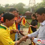 Đô Lương:  Khai mạc giải bóng chuyền nam lễ hội làng sen năm 2019