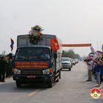 Đô Lương: Hàng ngàn người dân kính cẩn đón hài cốt liệt sĩ trở về quê hương