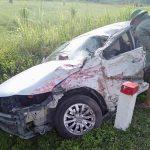 Nữ tài xế nhập viện do va chạm với xe ô tải
