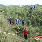 Đoàn xã Thượng Sơn- Đô Lương: Ra quân tình nguyện hè