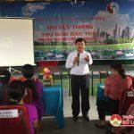 Hội LHPN huyện Đô Lương: Truyền thông thu gom rác thải hưởng ứng ngày môi trường thế giới.