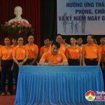 Lễ phát động hưởng ứng tháng hành động Quốc gia phòng chống bạo lực gia đình