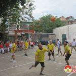 Hội người cao tuổi thị trấn tổ chức giao lưu văn nghệ thể dục thể thao