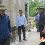 Đoàn kiểm tra Sở Nông nghiệp làm việc tại huyện Đô Lương