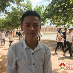 Buổi thi cuối cùng kỳ thi THPT Quốc gia tại huyện Đô Lương