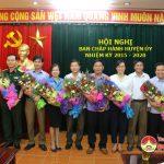Đô Lương công bố Quyết định chỉ định 7 ủy viên Ban chấp hành huyện ủy