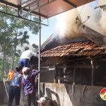 Đô Lương xảy ra một vụ cháy chuồng trâu