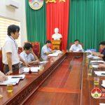 UBND huyện tổ chức đánh giá kết quả thẩm tra các tiêu chí nông thôn mới ở 8 xã